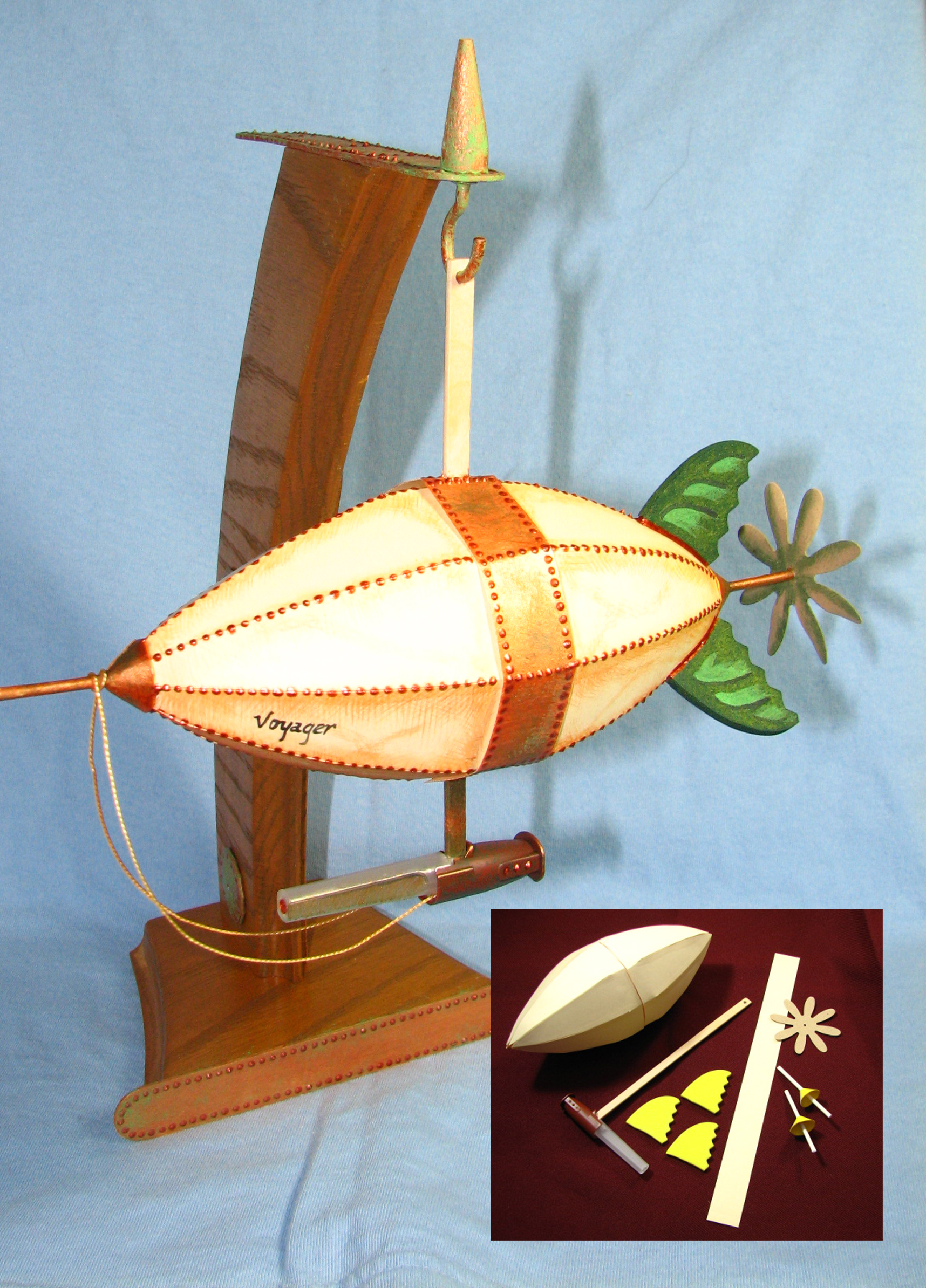 Airship Kits Build One Yourself Dr Steampunk