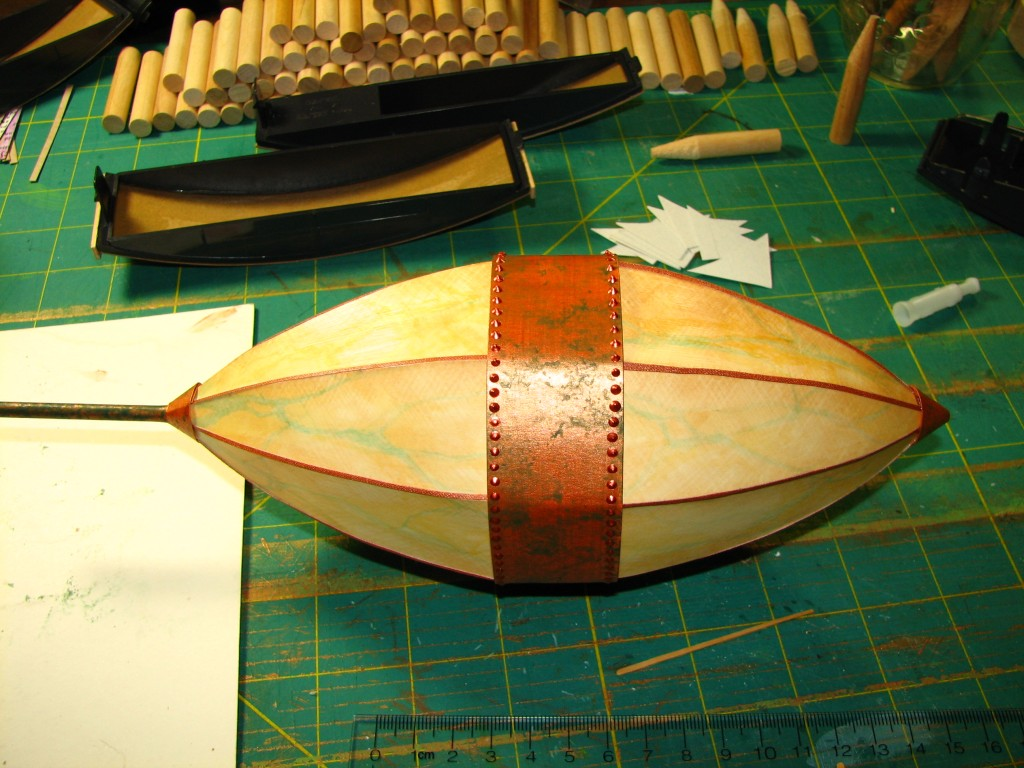 Nose and tail cones in place