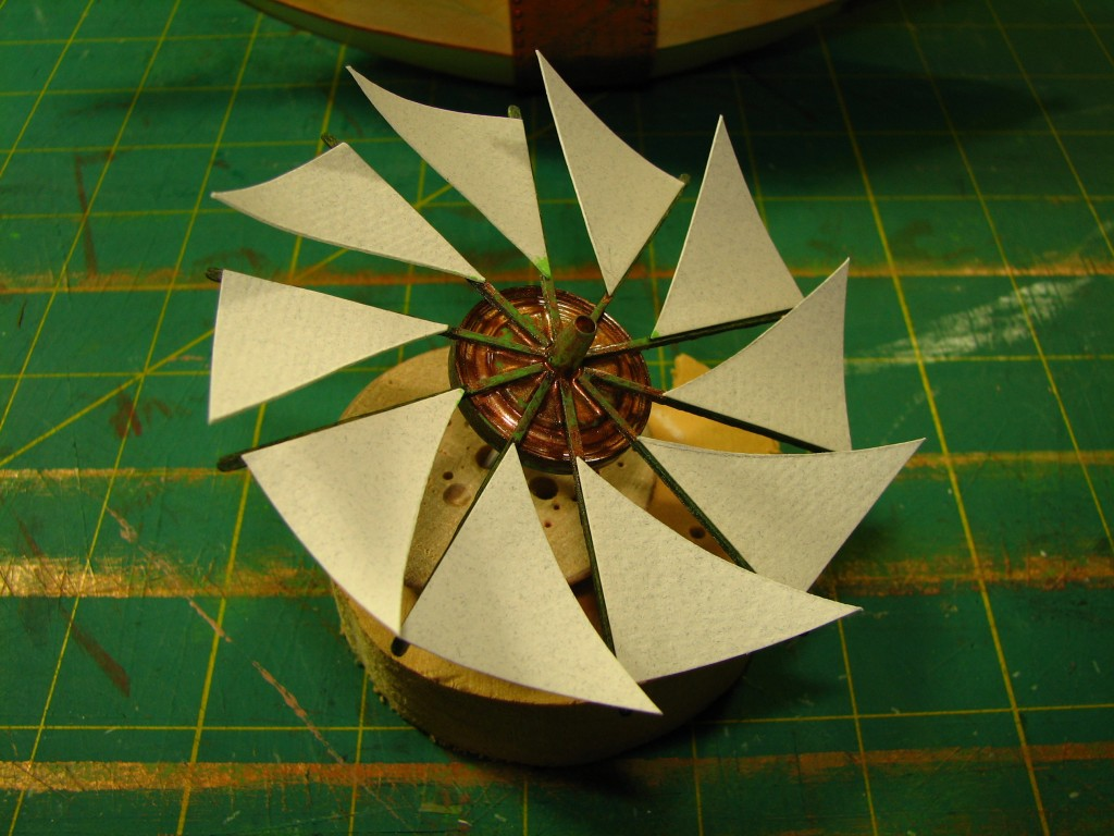 Finished propeller