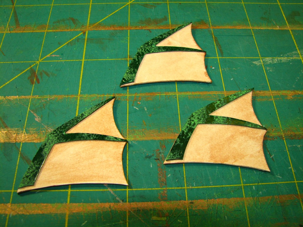 Finished fins
