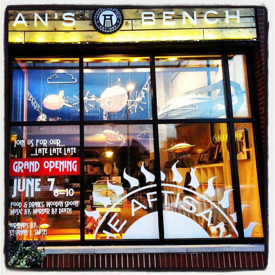 Artisan's Bench front window