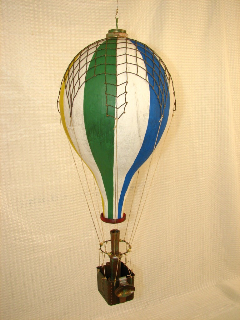 Steampunk hot air balloon 004